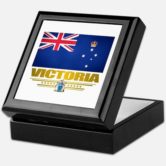 """""""Victoria Flag"""" Keepsake Box"""