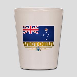 """""""Victoria Flag"""" Shot Glass"""