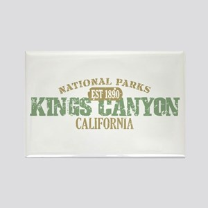 Kings Canyon National Park CA Rectangle Magnet