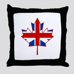 UK Maple Throw Pillow
