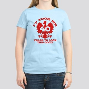 40th Birthday Polish Women's Light T-Shirt