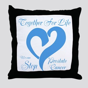 Stop Prostate Cancer Throw Pillow