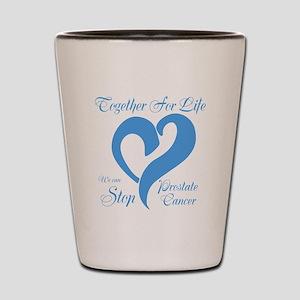 Stop Prostate Cancer Shot Glass