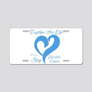 Stop Prostate Cancer Aluminum License Plate