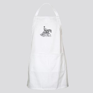 Reining Horse drawing Apron