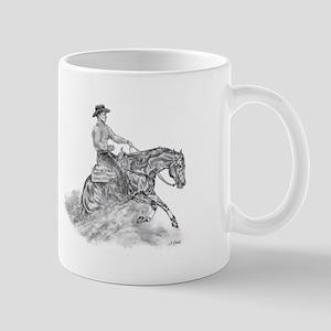Reining Horse drawing Mug