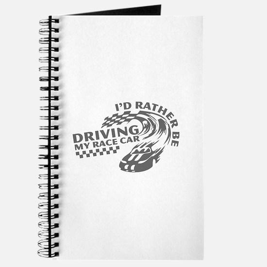 Driving My Race Car Journal