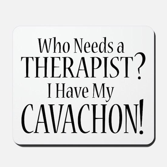 THERAPIST Cavachon Mousepad