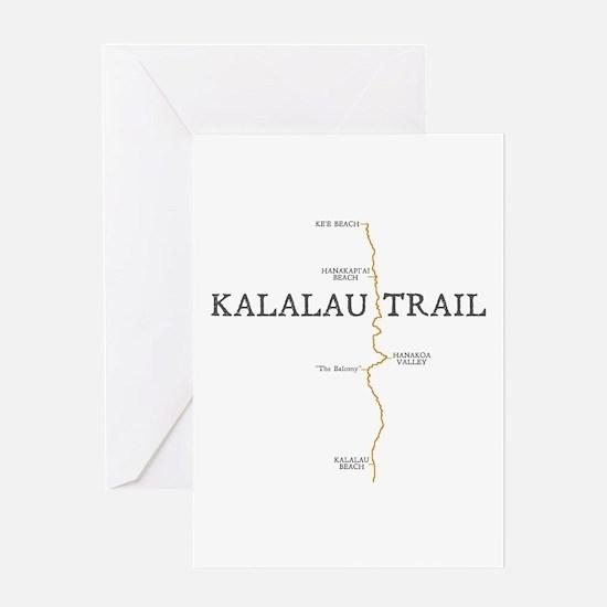 Kalalau Trail Greeting Card