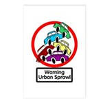 The Urban Sprawl Postcards (Package of 8)