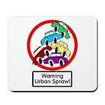 The Urban Sprawl Mousepad