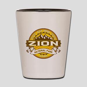 Zion Goldenrod Shot Glass