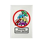 The Urban Sprawl Rectangle Magnet (100 pack)