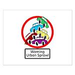 The Urban Sprawl Small Poster