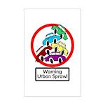 The Urban Sprawl Mini Poster Print