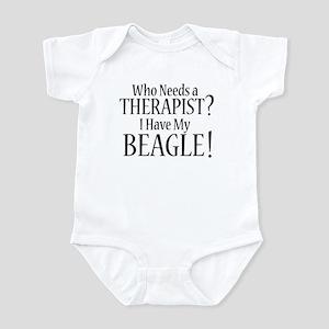 THERAPIST Beagle Infant Bodysuit