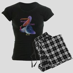 Island Time Pelican Women's Dark Pajamas