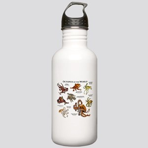 Octopus of the World Stainless Water Bottle 1.0L