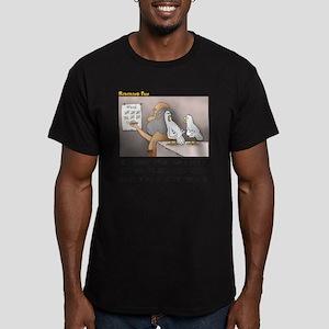 Secret on the Ark Men's Fitted T-Shirt (dark)