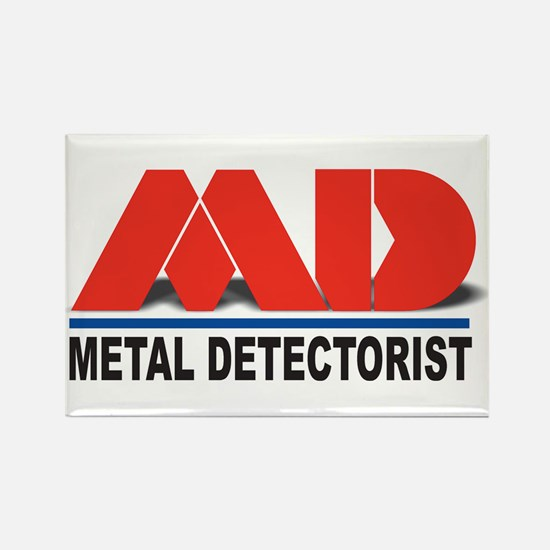 MD - Metal Detectorist Rectangle Magnet