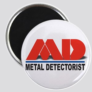 MD - Metal Detectorist Magnet