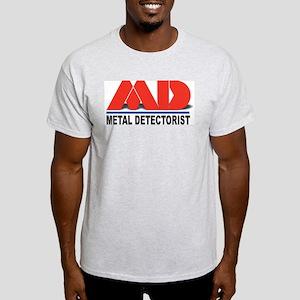 MD - Metal Detectorist Light T-Shirt