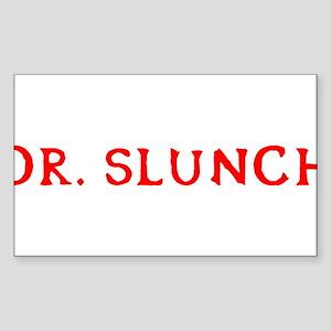 Dr. Slunch Sticker (Rectangle)