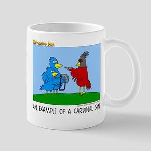 A Cardinal Sin Mug