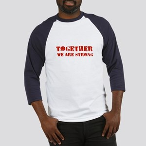 Strength in Numbers Baseball Jersey