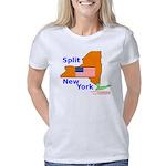 split-new-york-tshirt Women's Classic T-Shirt