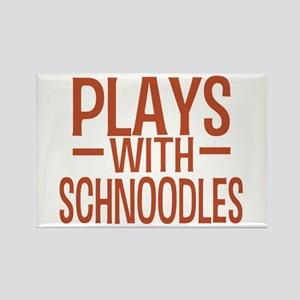 PLAYS Schnoodles Rectangle Magnet