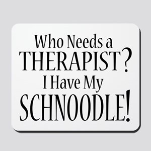 THERAPIST Schnoodle Mousepad
