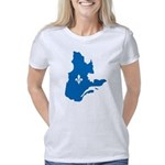 CarteQc1AvecLys Women's Classic T-Shirt