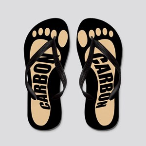 Carbon Footprints Flip Flops