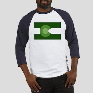 Green Colorado Baseball Jersey