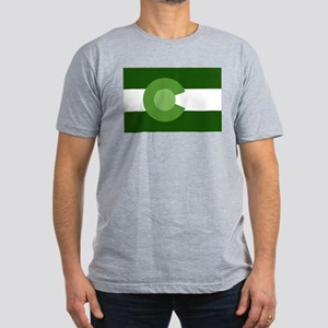 Green Colorado Men's Fitted T-Shirt (dark)