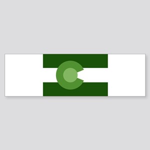 Green Colorado Sticker (Bumper)