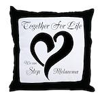 Stop Melanoma Throw Pillow