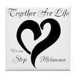 Stop Melanoma Tile Coaster