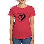 Stop Melanoma Women's Dark T-Shirt
