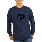 Stop Melanoma Long Sleeve Dark T-Shirt