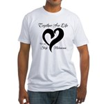 Stop Melanoma Fitted T-Shirt
