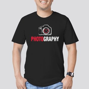 Love Photography Men's Fitted T-Shirt (dark)