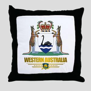 """""""Western Australia COA"""" Throw Pillow"""