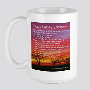 The Lord's Prayer Large Mug