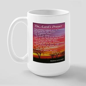 The Lord's Prayer Large Mug