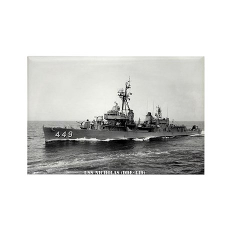 USS NICHOLAS Rectangle Magnet