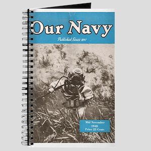 Navy Diver Journal