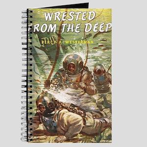 Diving Helmet Book Journal