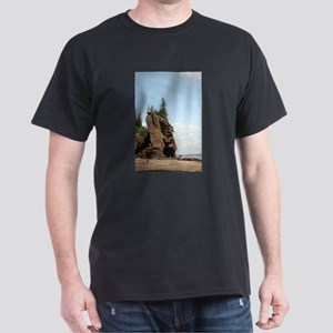 Hopewell Rocks, NS Dark T-Shirt
